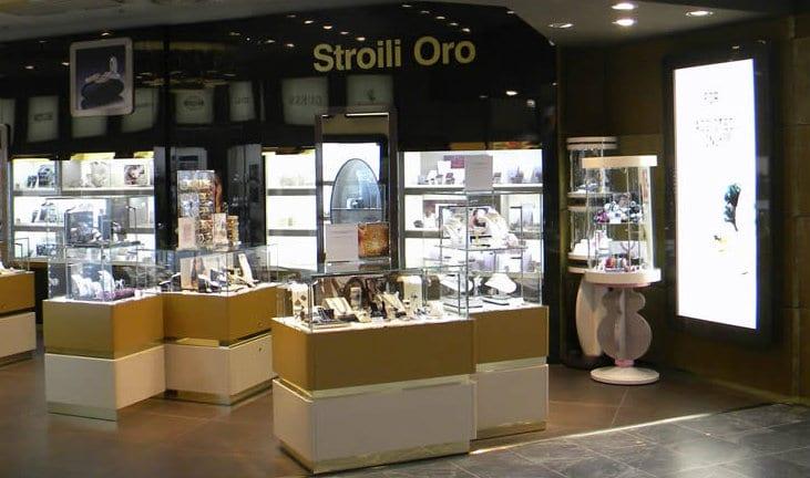negozio gioielleria olbia stroili oro