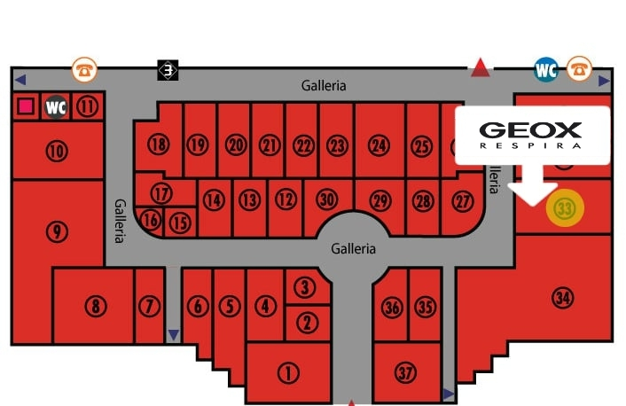 Geox – Centro Commerciale Terranova